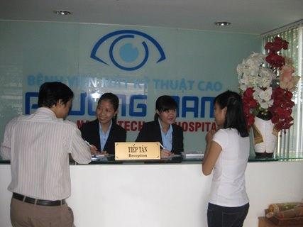 Tại bệnh viện mắt Phương Nam bạn sẽ được tiếp đón tận tình